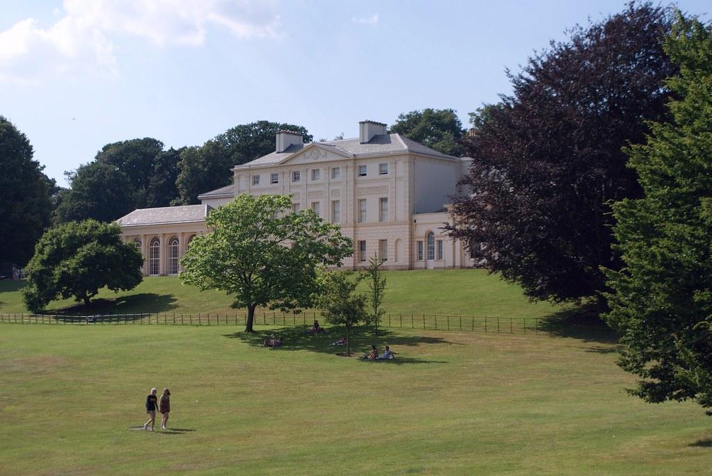 Kenwood House dans le parc de Hampstead Heath à Londres.
