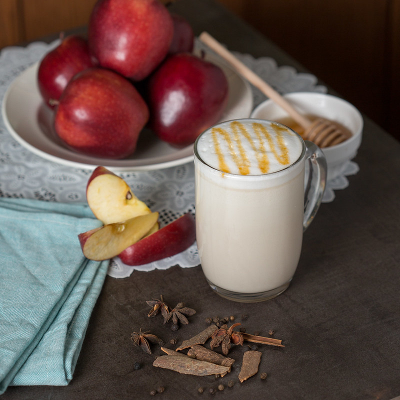 The Honey Apple Chai Tea Latte