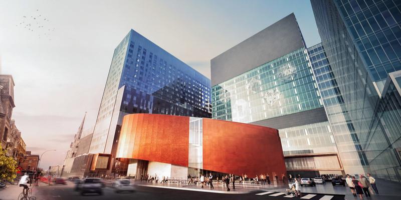 Самая большая больница Канады в Монреале