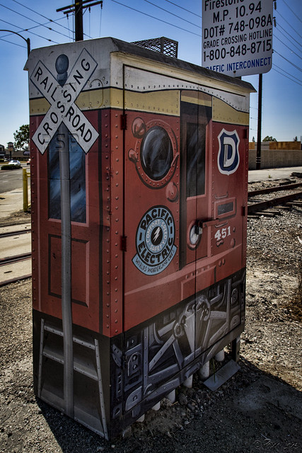 Electrical box art
