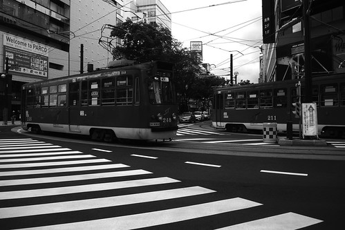 Tramcars at Sapporo on JUL 20, 2016 (5)