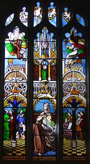 Jane Grimmer Gaye window (by George Hedgeland for Frank Howard, 1852)