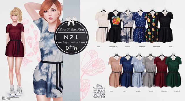 Sonia T-Shirt Dress