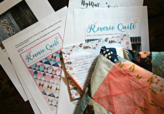 Reverie Quilt Patterm for Janome