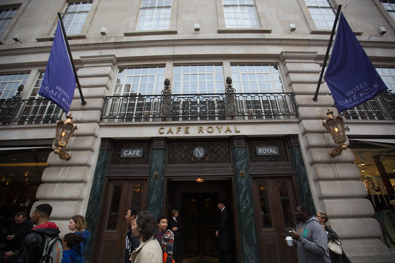 Review: Hotel Cafe Royal, London