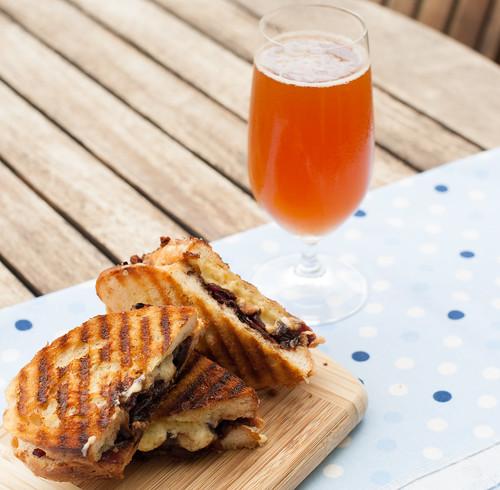 Balsamic Onion & Cheddar Toasties