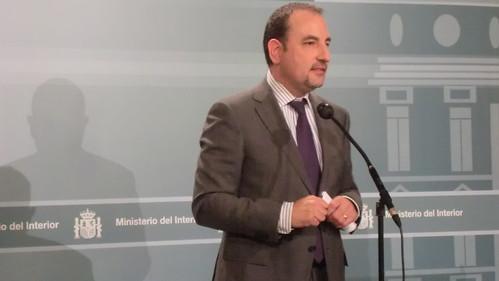 Jorge fern ndez d az se re ne con el conseller de interior for Ministerio del interior llamados 2016