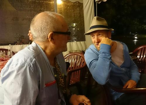 Clemens Klopfenstein und Marcel Ramsay, Locarno Film Festival 2016