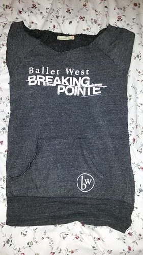 Breaking Pointe Sweatshirt, Ballet West