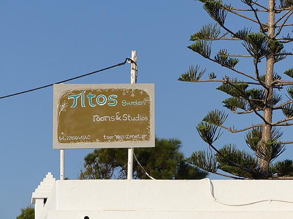 Tito's garden