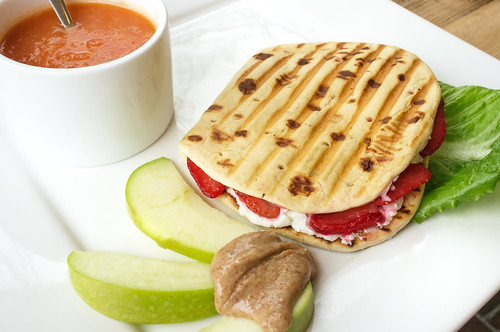 Strawberry & Goat Cheese Panini | Strawberry & Goat Cheese P ...