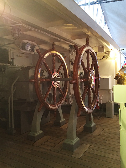 Kaiwo Maru stern wheel