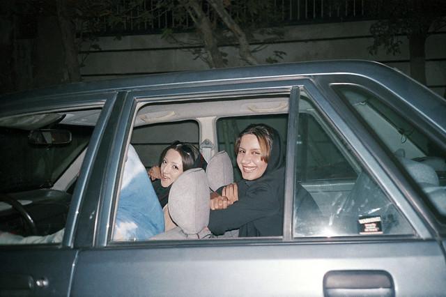 Shirin Aliabadi, Girls in Cars 1, 2005, Color photographic print, 70x100cm