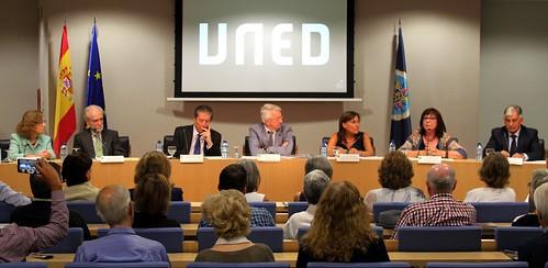Acto de Adhesión de la UNED a la Carta de la Tierra (21/09/2016)