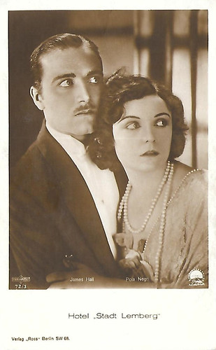 Pola Negri and James Hall in Hotel Imperial (1927)