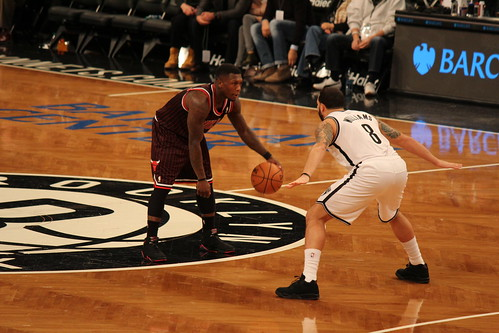 Nate Robinson With Shaq S Shoes