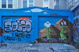 Osage Alley Murals - Garage murals