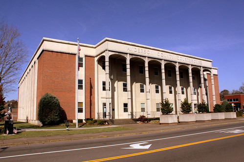 Anderson County Courthouse - Clinton, TN