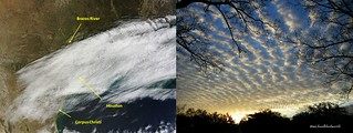 Here's a satellite look at those Clouds | by MichaelB in Houston