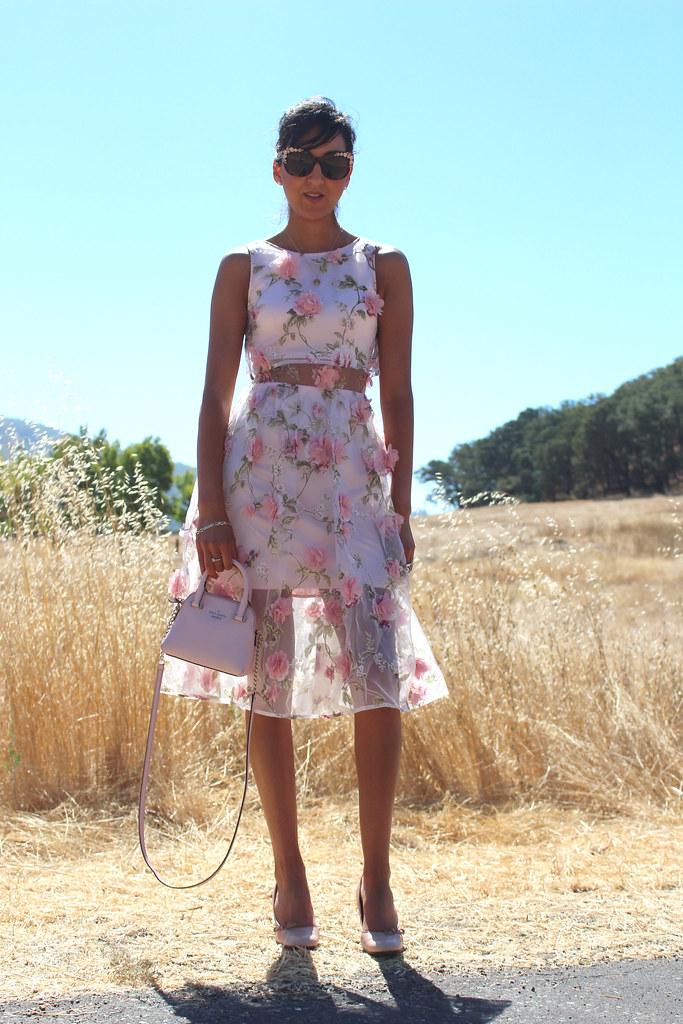 3D Floral Dress 9