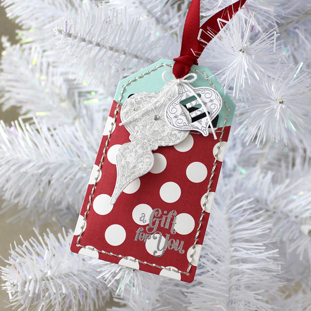 A Gift For You Ornament Tag