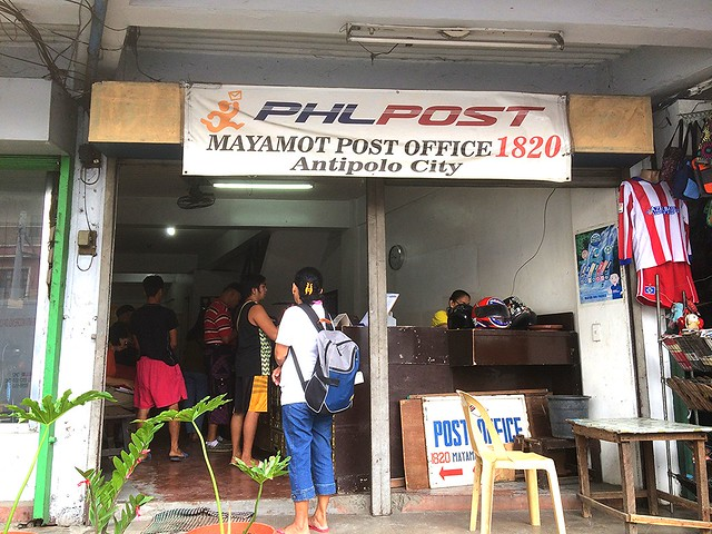 Mayamot Antipolo City Post Office 1820