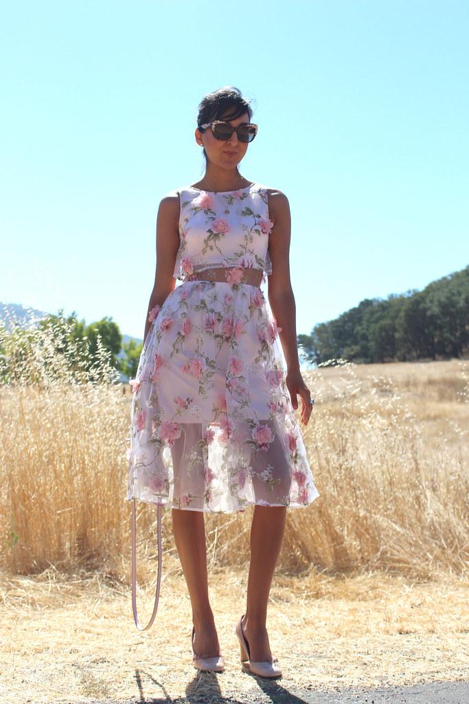 3D Floral Dress 1