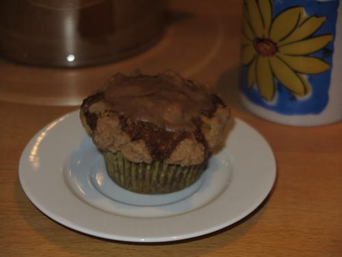Apfel-Kürbis-Muffins als später Nachtisch