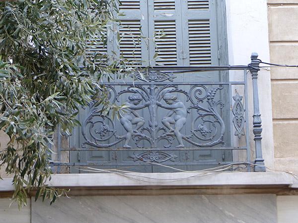 balcon gris