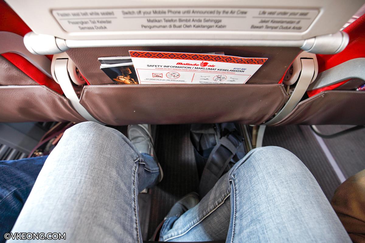 Malindo Air Leg Room