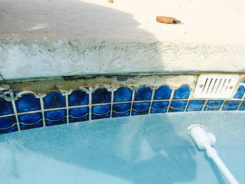 Pool Tile Repair Or Replacement