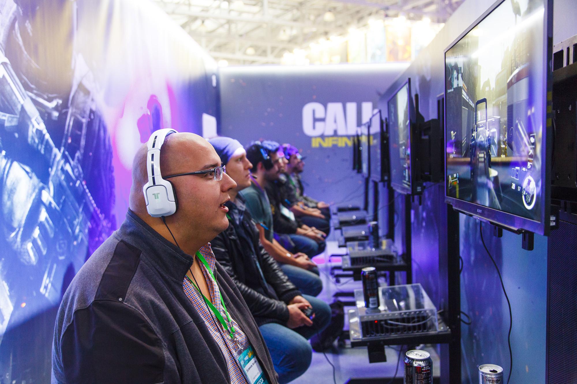 Call of Duty: Infinite Warfare на «ИгроМире 2016»