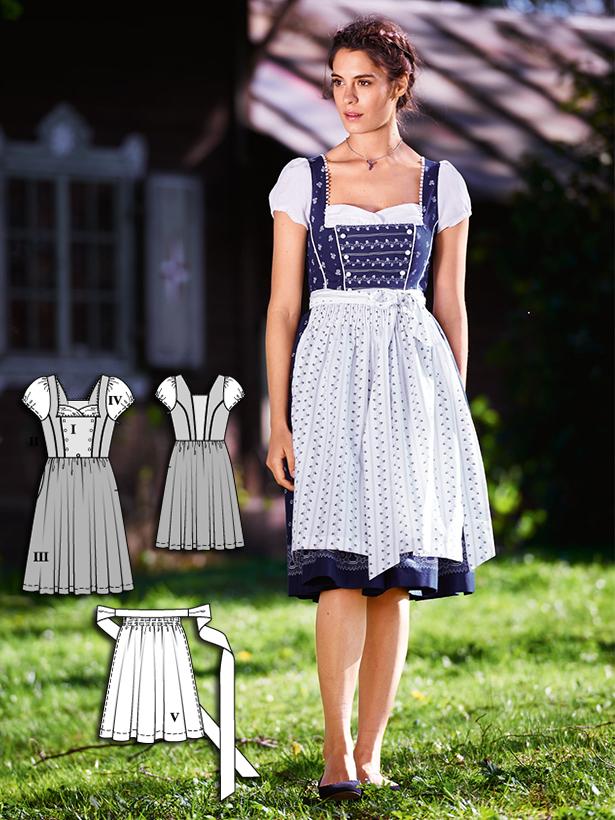 Oktoberfest 8 new womens dirndl sewing patterns sewing blog 128 092016 b solutioingenieria Images