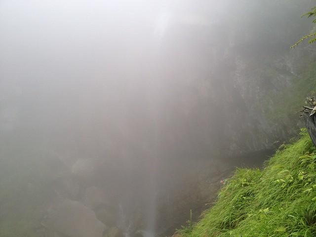 鳳凰山 ドンドコ沢 五色滝