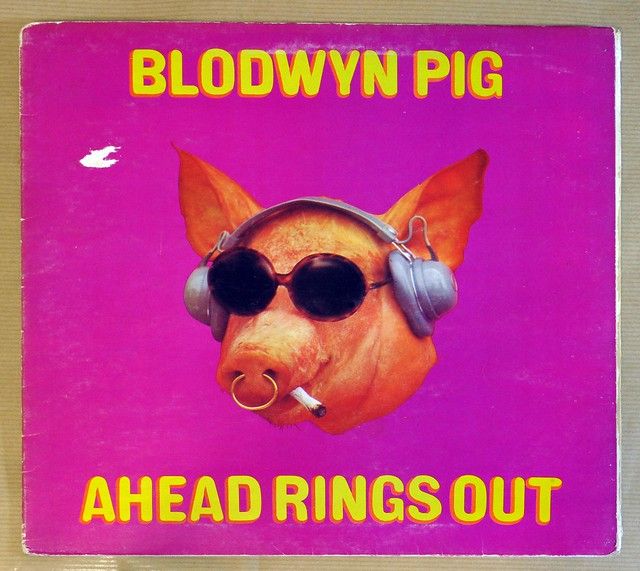 "BLODWYN PIG AHEAD RINGS OUT FOC 12"" LP VINYL"
