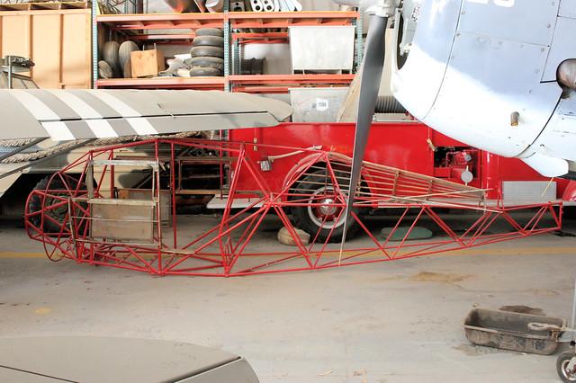 Glider frame