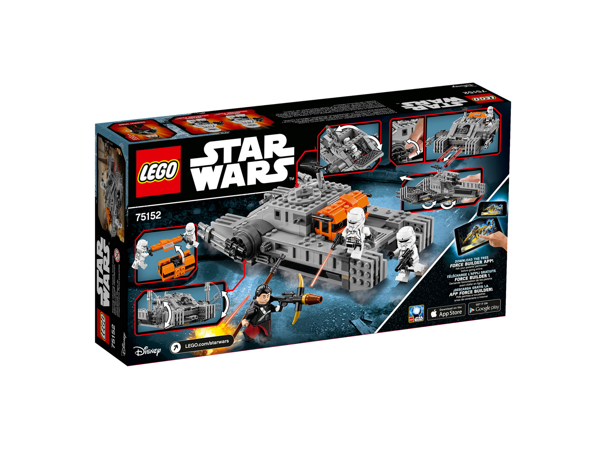 LEGO Star Wars 75152 - Imperial Assault Hovertank