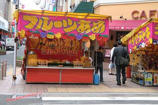 CIMG1259 Puestos por el Shotengai Shintencho (Fukuoka) 14-07-2010
