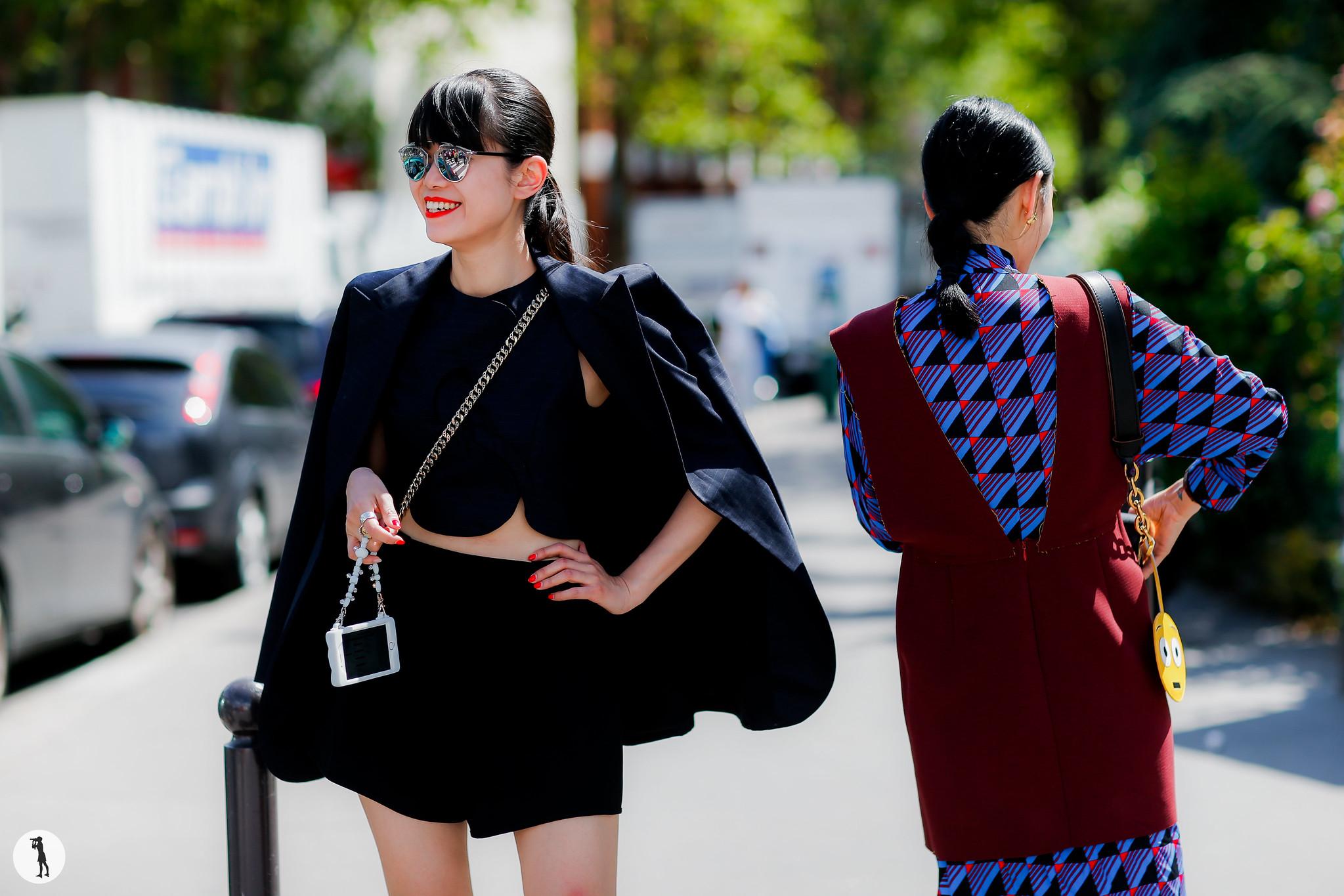 Leaf Greener and Sheery Shen - Paris Fashion Week Menswear SS17 (1)