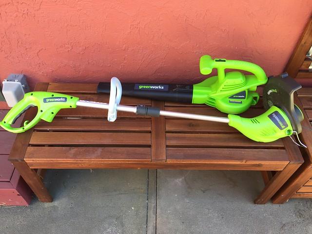 New garden toys