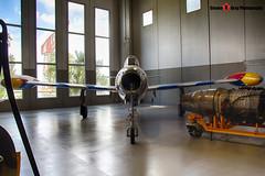 MM51-11049 51-29 - 2142-502B - Italian Air Force - Republic F-84G Thunderjet - Italian Air Force Museum Vigna di Valle, Italy - 160614 - Steven Gray - IMG_0823_HDR