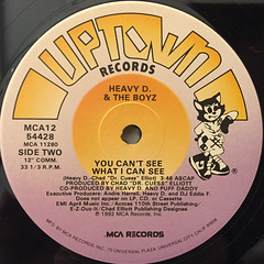 HEAVY D & THE BOYZ:DON'T CURSE(LABEL SIDE-B)