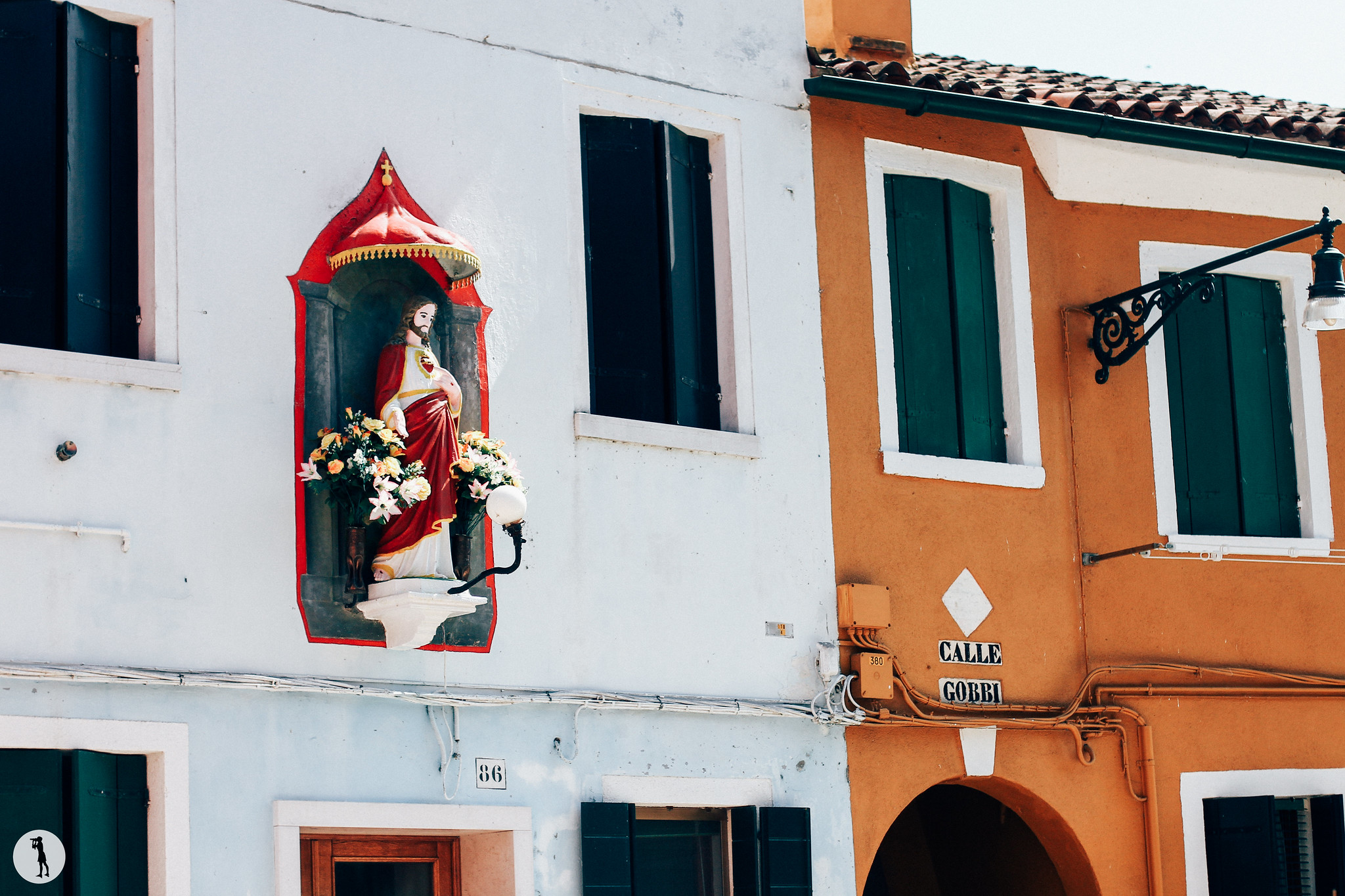 Voyage. Burano, Italie