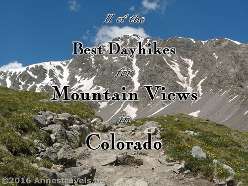 Torreys Peak en route to Grays Peak, Arapaho National Forest, Colorado