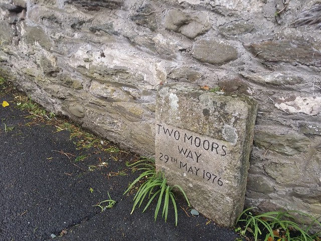 Day 1: Start of the Two Moors Way - official