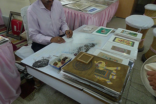 Jaipur - City Palace artist