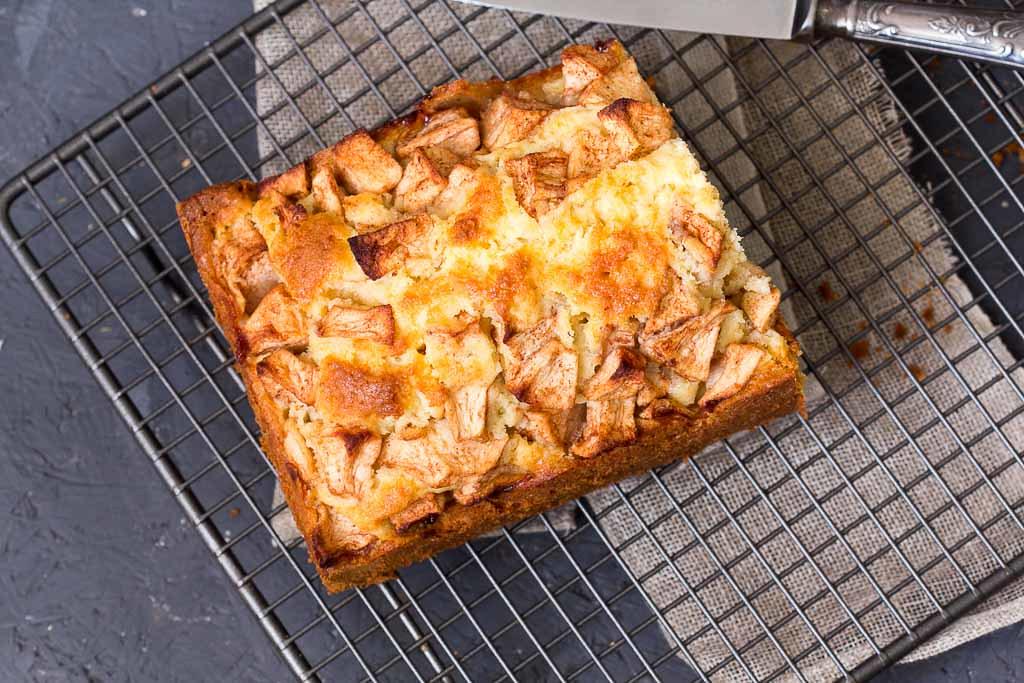 schneller Apfelkuchen via lunchforone.de