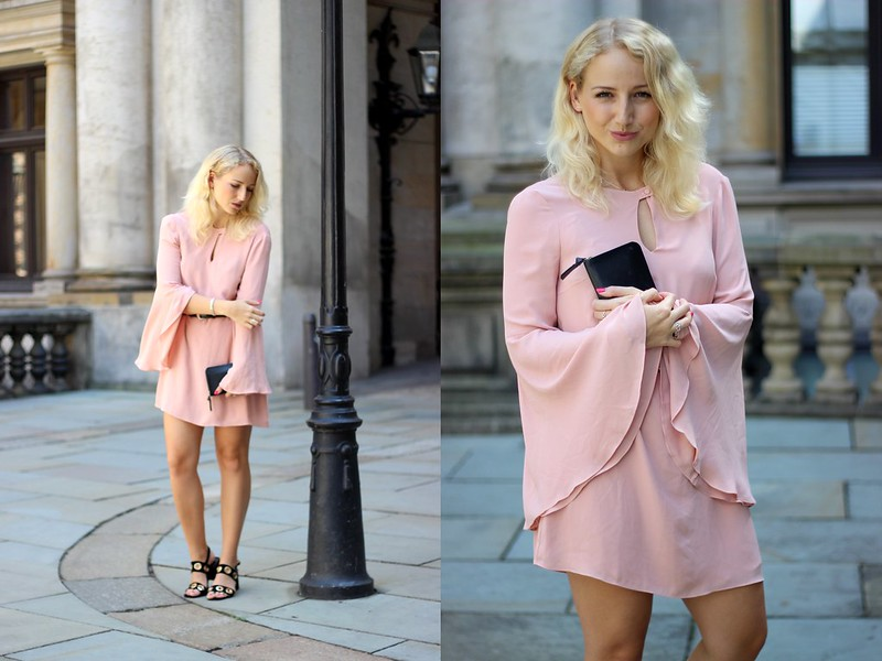 OUTFIT Edited rosa Kleid
