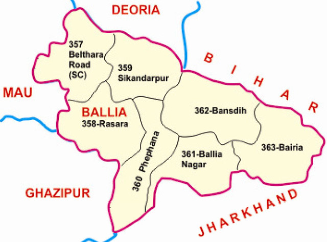 Ballia district Uttar Pradesh Election 2017