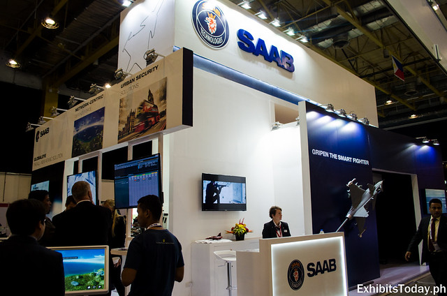 SAAB Trade Show Display